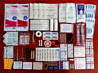 TRAUMA RESPONDER TACTICAL MED PACK MEDICAL SUPPLIES SURVIVAL TOOLS STERILE KIT