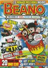 The Beano Magazine: Help Save Beanotown From The Sneaky Softies 1.11.14
