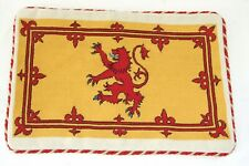 Royal Lion Rampant Flag Needlepoint Cushion Cover Tapestry Handmade