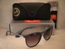 Ray Ban 4171 Erika Rubber Blue w Grey Gradient Lens (RB4171 60028G)