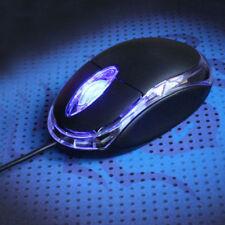 Ottico USB Mouse LED giochi PC Computer filo Portatile ECONOMICO LUCE yi