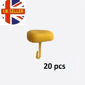 20 x Corn stops bait stops perfect for Tipping bollies baits Carp Barbel fishing