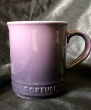 Le Creuset Dark Purple Coffee & Tea Cup Beverage Service Wear Hot Cocoa Mug Used
