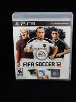 FIFA Soccer 12 (PlayStation 3, 2011)  COMPLETE