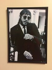 Post Malone A4 260gsm  Framed Poster Print