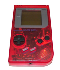 Nintendo Gameboy DMG Brick Classic Console Recased Reshell Clear Colors