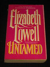 msm* SALE : ELIZABETH LOWELL ~ UNTAMED