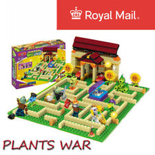 Plants Vs Zombies Garden Maze Lego Compatible Struck Kid Game Building Block
