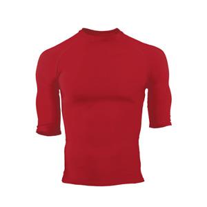 Badger Men's Pro Compression Half Sleeve Crew Shirt SCARLET 2XL