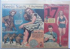 Seein' Stars:Jeanne Crain, Faye Emerson, Lon Chaney, Jackie Cooper from 2/3/1946