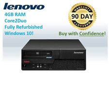 CLEARANCE! Lenovo SFF M58 Desktop 4GB 2.93GHz 250GB Win 10 WARRANTY + FREE SHIP!