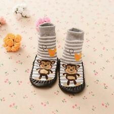 Cartoon Kids Toddler Baby Anti-slip Sock Shoes Boots Slipper Socks