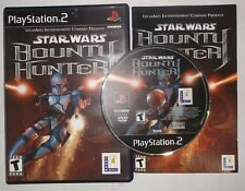 Star Wars: Bounty Hunter (Sony PlayStation 2, PS2, 2002) COMPLETE w/ Manual