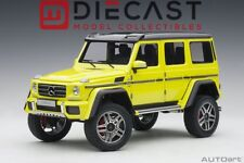AUTOART 76319 MERCEDES-BENZ G500 4X4 2 (ELECTRIC BEAM/YELLOW) 1:18TH SCALE