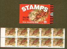 New Zealand  SG SB64  1993 Tusked Weta Stamp  Booklet