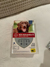 Bayer K9 Advantix Ii Flea and Tick Control for Extra Large Dogs, 12 doses