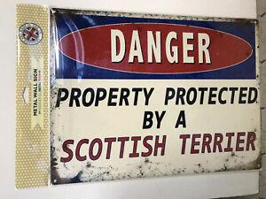 Scottish Terrier Danger