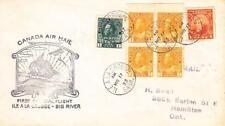 1922, 1st Flt., Ile a LaCrosse to Big River, Sak, Canada, See Remark (12017)