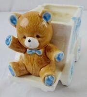 Lefton Teddy Bear Planter 1986 Japan model 05599