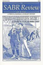 NEW The SABR Review of Books, Volume 1: A Forum of Baseball Literary Opinion
