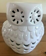 BATH & BODY WORKS / SLATKIN  white owl - Oil Wax Tart Disc Warmer