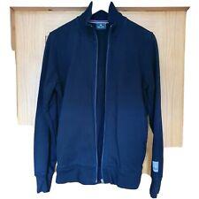 Paul Smith Men's Black Cotton Zip Top With Sleeve Logo Detail Size M