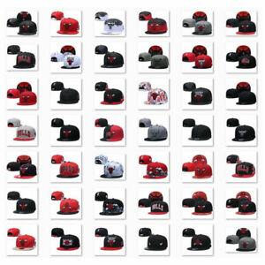 Embroidered Chicago Bulls Baseball Cap Adjustable Snapback Basketball Hats