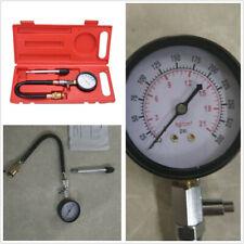 Petrol Gas Engine Cylinder Pressure Tester Car Compression Gauge Test Tool Kit