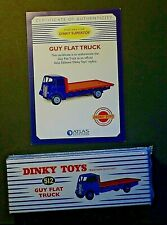 Atlas dinky 512 guy flat truck sealed with cert.