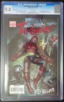 Amazing Spider-Man #612 Marvel Comics CGC 9.8 White Pages Granov Variant