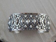Sterling Silver Bracelet - Allen Lee - Navajo Bracelet - Native American