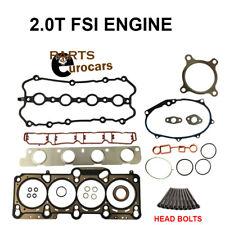 Cylinder Head Gasket Set W BOLTS AUDI A4 2.0T VW PASSAT 2.0T FSI ENGINES