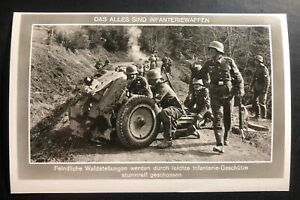 Mint Germany RPPC Postcard The infantry knows no obstacles In The Woodlands