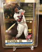 RONALD ACUNA Jr. 2019 Topps Update Gold #973/2019 #US271 Atlanta Braves