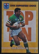 Mal Meninga 1994 Season NRL & Rugby League Trading Cards