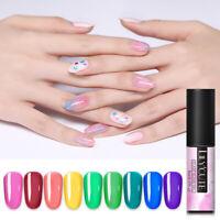 LILYCUTE 5ml Glaze Glass UV Gel Polish Colorful Soak Off Nail Art Gel Varnish