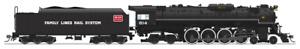 Steam Locomotive HO Brass C&O J3a 4-8-4 #614 Broadway Limited 4908