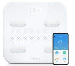 YUNMAI S Body Fat Weight Smart Scale 180KG Bluetooth App IOS Android