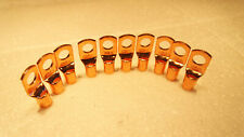 10PK 4GAUGE UNPLATED COPPER  BATTERY TERMINAL CABLE WIRE LUGS 4GA LUG 5/16