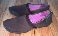 Crocs Brown Women's 8W Slip On Shoes Cushion Comfortable