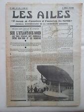 AILES 1937 833 ATLANTIQUE NORD BERMUDES POTEZ 63 DURALUMIN POLE NORD FUMIGENE