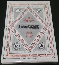 Firehost Playing Cards (Red) - USPCC