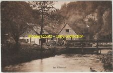 """AK HÖNNETAL ( Menden Hemer Balve ) """"Mühle Ebbinghaus"""" um 1910"""