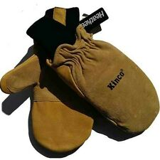 kinco heatkeeping mittens size medium genuine leather thermal lined BNWT