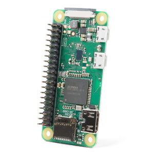 Raspberry Pi Zero WH with Built-in WiFi and Bluetooth GPIO Soldered Headers