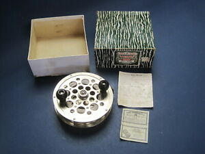 Vintage Pflueger Sal-Trout #1558 New Old Stock Reel w Line, Box & Papers VGC