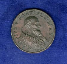 ITALY  PAPAL STATES / VATICAN  1572  POPE PIUS V BRONZE MEDAL, APPROX. 28MM