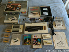 Commodore Vic-20 Computer, Cleaned, Recapped, Tested 24hrs, w/Box, Games & more!
