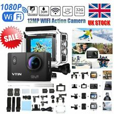 Ultra HD 1080P Sports Camera WIFI Helmet 30M Waterproof Mini DV Action Camcorder