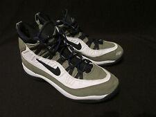 Nike Vintage Green White Navy Basketball Shoes Women's US 10M